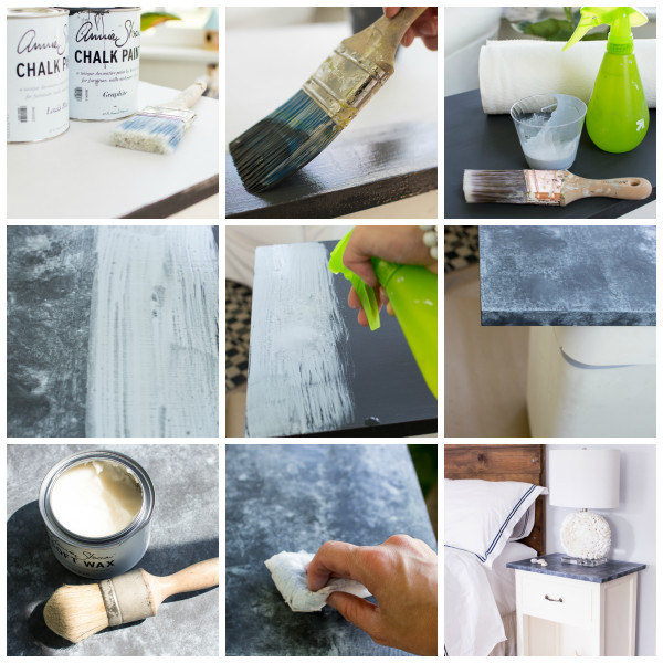 Faux Soapstone Step by Step by Finding Silver Pennies.