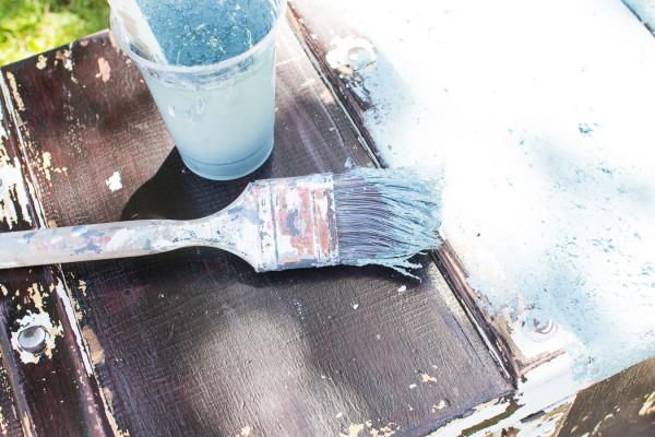 Painting Coastal Trunk