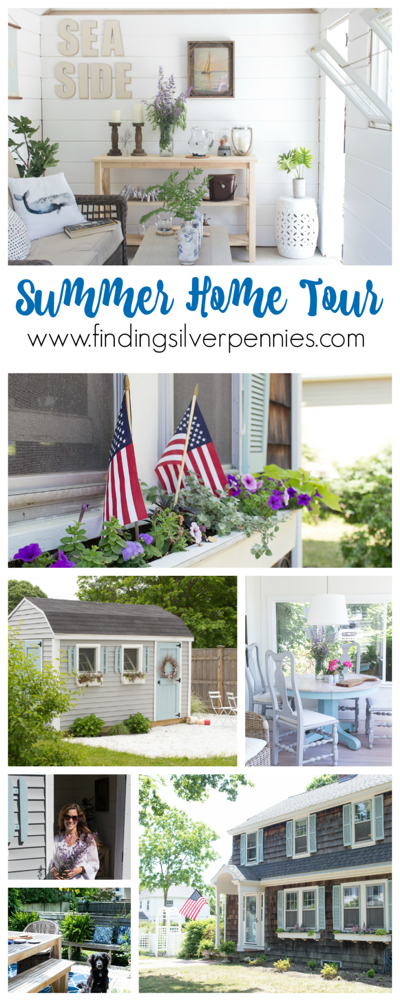 Summer Home Tour Finding Silver Pennies