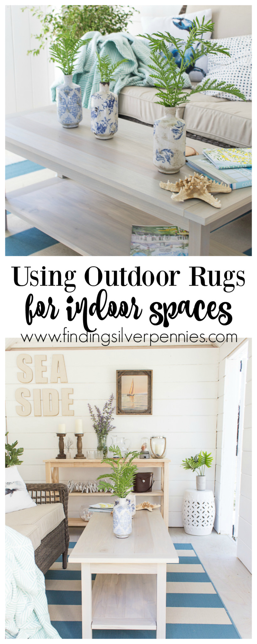 Using Outdoor Rugs for Indoor Spaces