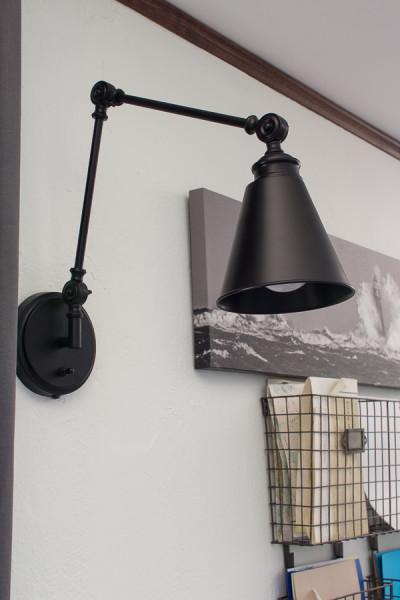 Angle Poised Light is perfect for task lighting above kids' desks!
