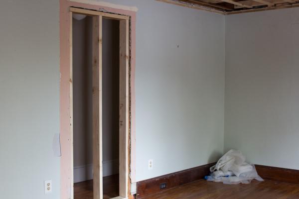 Boys Bedroom Demolition