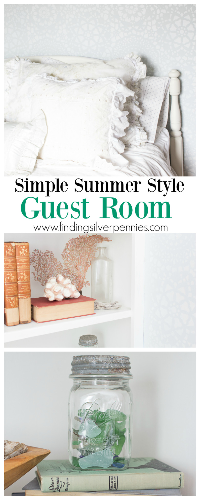 Simple Summer Style In Guest Room and How to Get This Look!