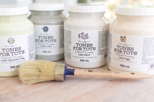 Tones for Tots all Natural Paint