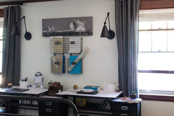 Kids Workspace in Bedroom