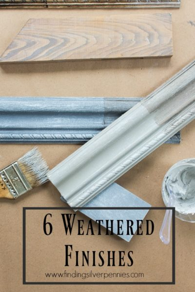 Six Weathered Finishes (to try at home)