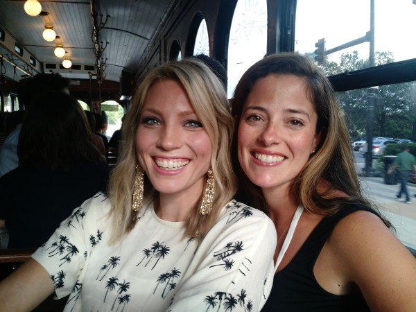 The importance of friendship - my friend Rachel and I at the Haven Blog Conference.