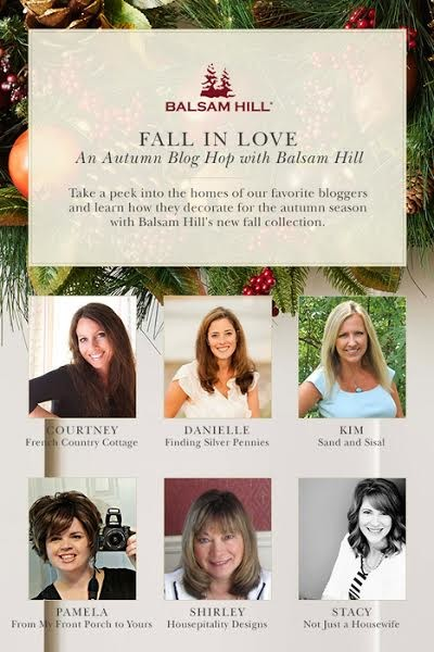 Fall in Love Blog Hop with Balsam Hill