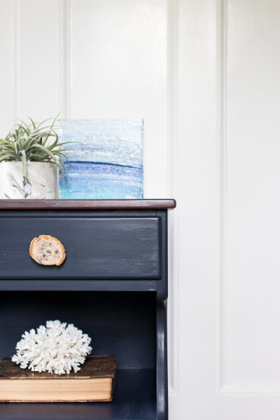 Coastal Nightstand by Finding Silver Pennies