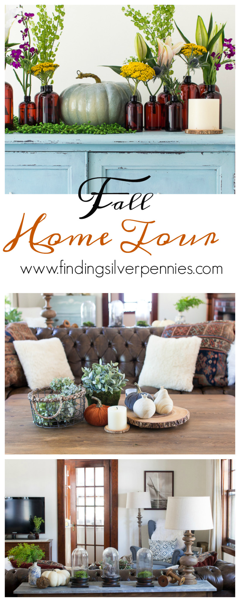 Fall Home Tour I Finding Silver Pennies