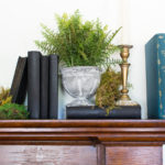 Moss Covered Fall Mantel (2016)