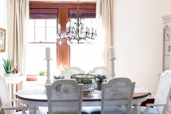 Fall in the dining room / www.findingsilverpennies.com
