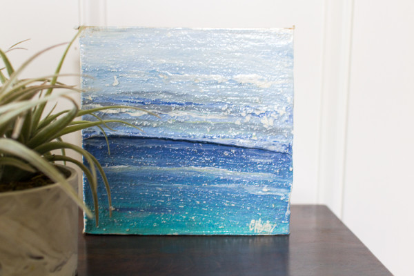 Gorgeous abstract by Saltwater Salvage.