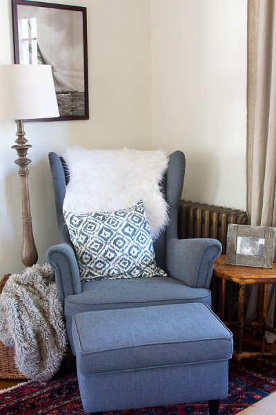 Fall in our Living Room / www.findingsilverpennies.com