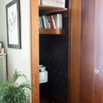 How To Stencil a Closet