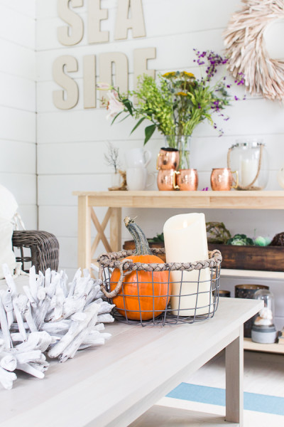 Cozy Decorating Fall in the She Shed I Finding Silver Pennies I www.findingsilverpennies.com