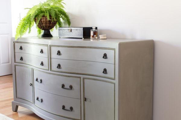 Elegant French Linen Dresser