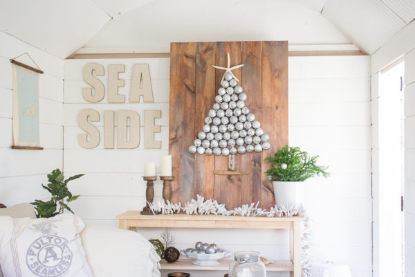 Coastal Christmas in the She Shed