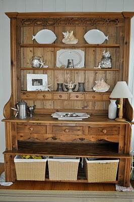 Welsh Dresser I found on a Facebook Yard Sale Site.