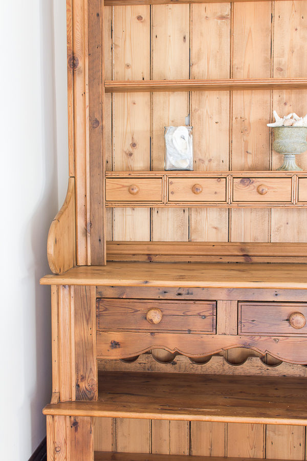 A Welsh Dresser Reviving Wood Finding Silver Pennies