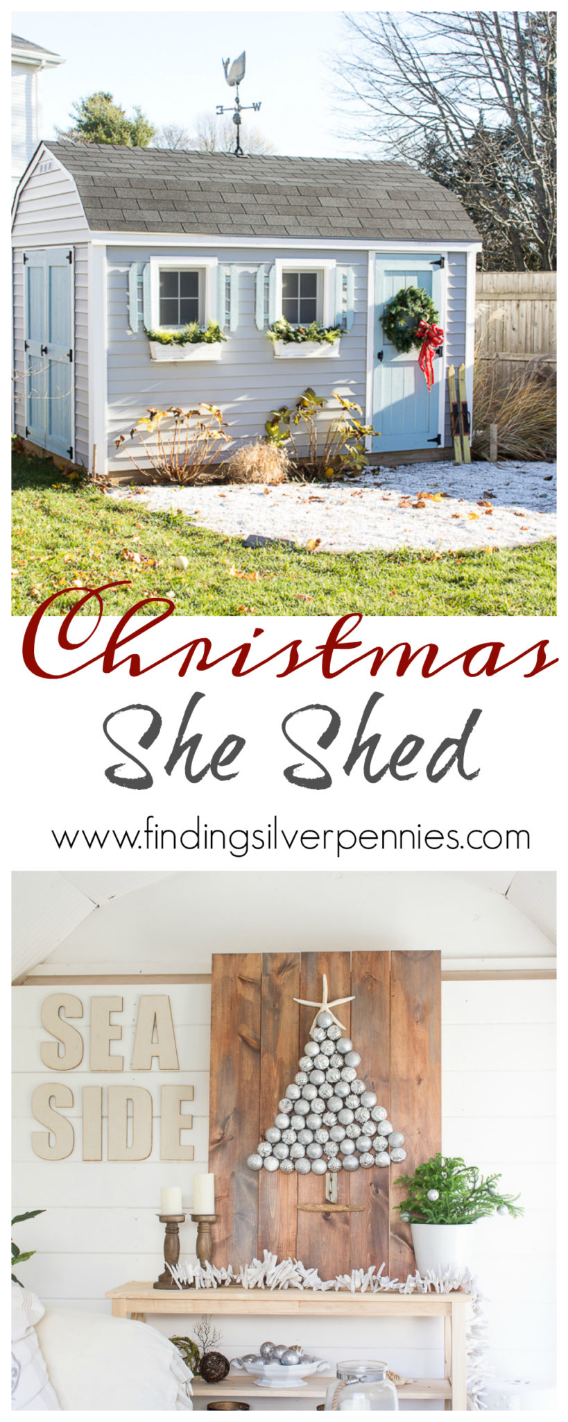 Christmas She Shed I Finding Silver Pennies
