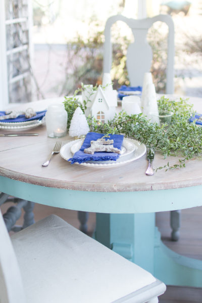 Lovely Winter Table I Finding Silver Pennies