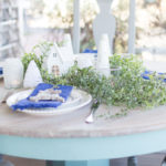 Coastal Winter Tablescape