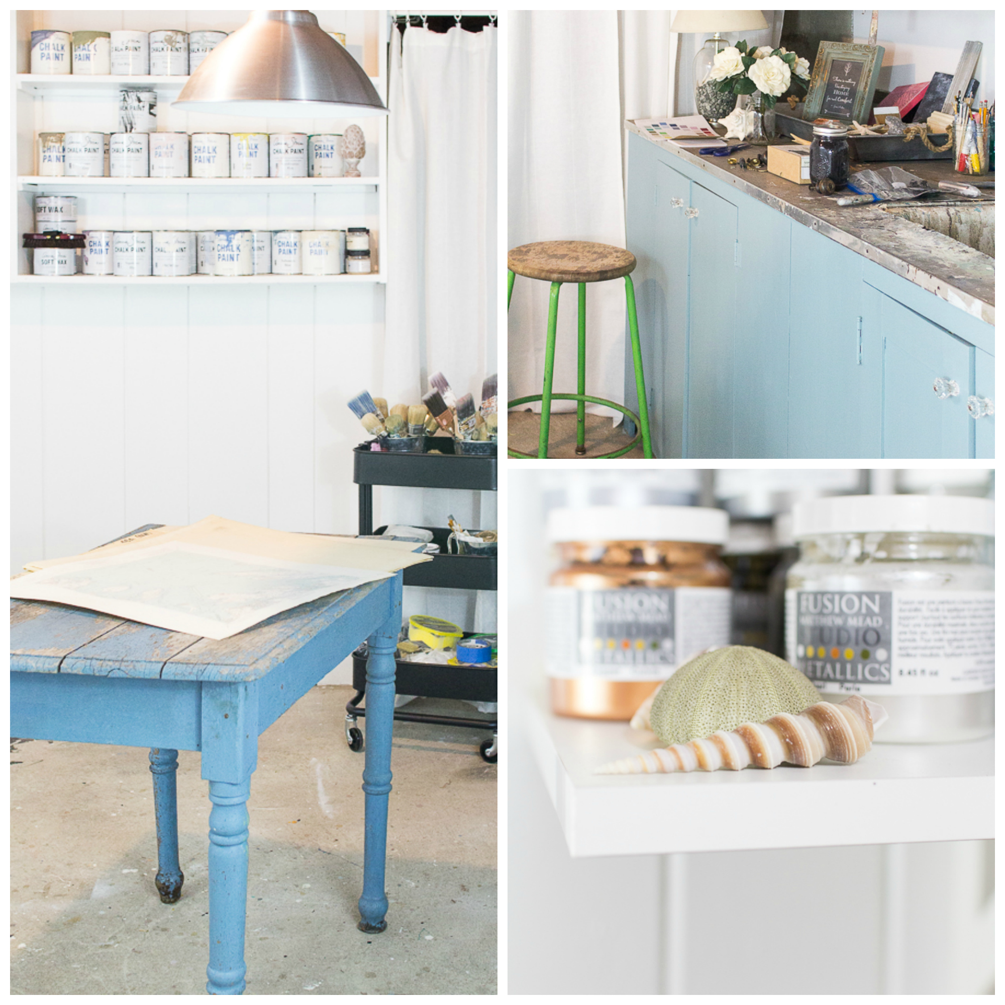 My Studio Space - Finding Silver Pennies