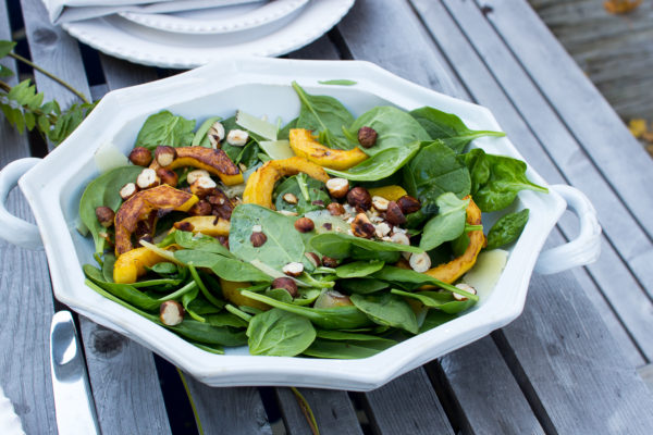 Healthy Winter Salad I Finding Silver Pennies