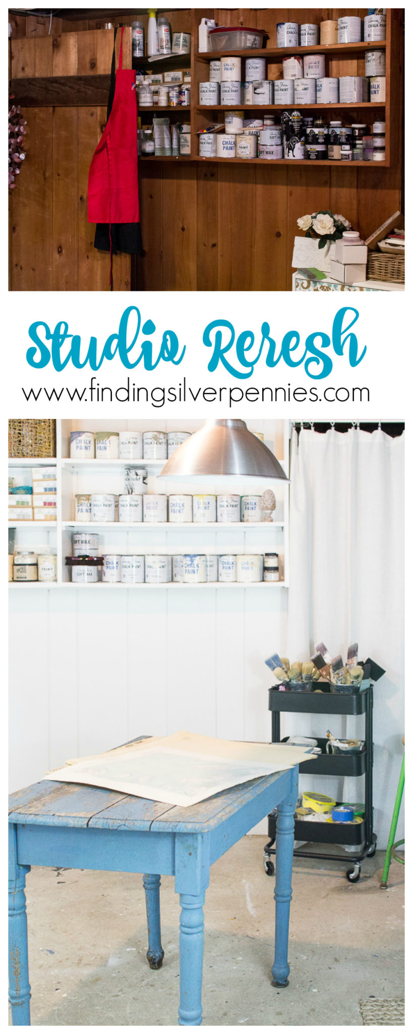 Studio Refresh I Finding Silver Pennies