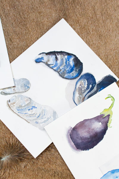 Watercolors I Home Office Reveal I Finding Silver Pennies