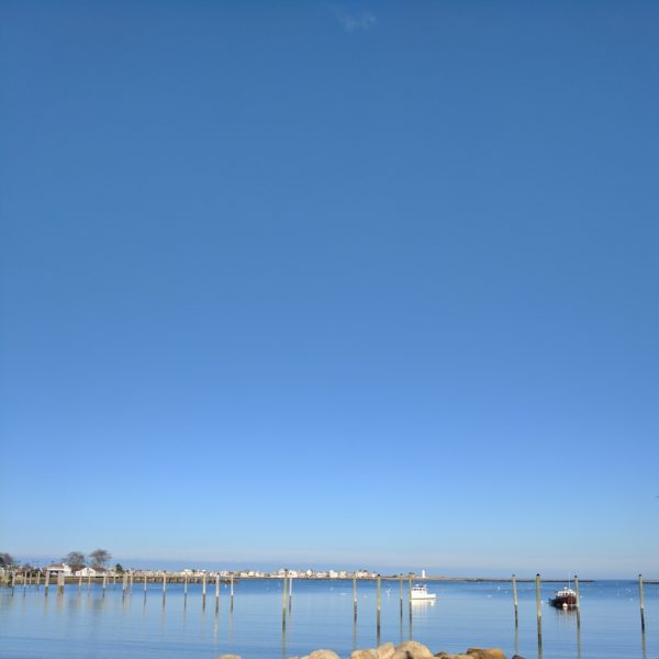 Scituate Harbor in Winter