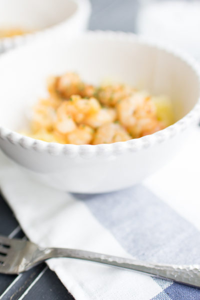 Healthy and delicious Paleo Shrimp Scampi I Finding Silver Pennies