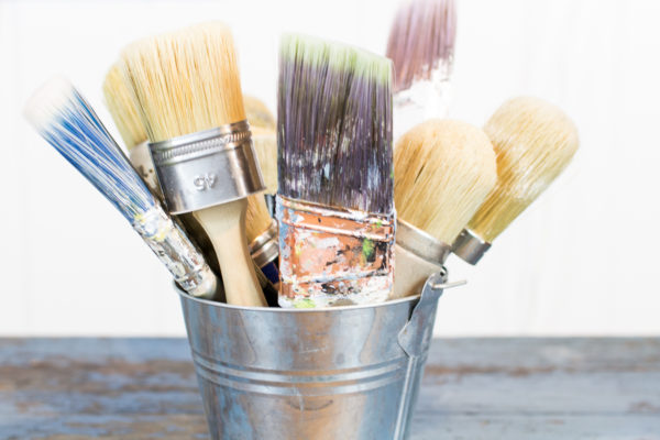 Caring For Your Brushes I Finding Silver Pennies