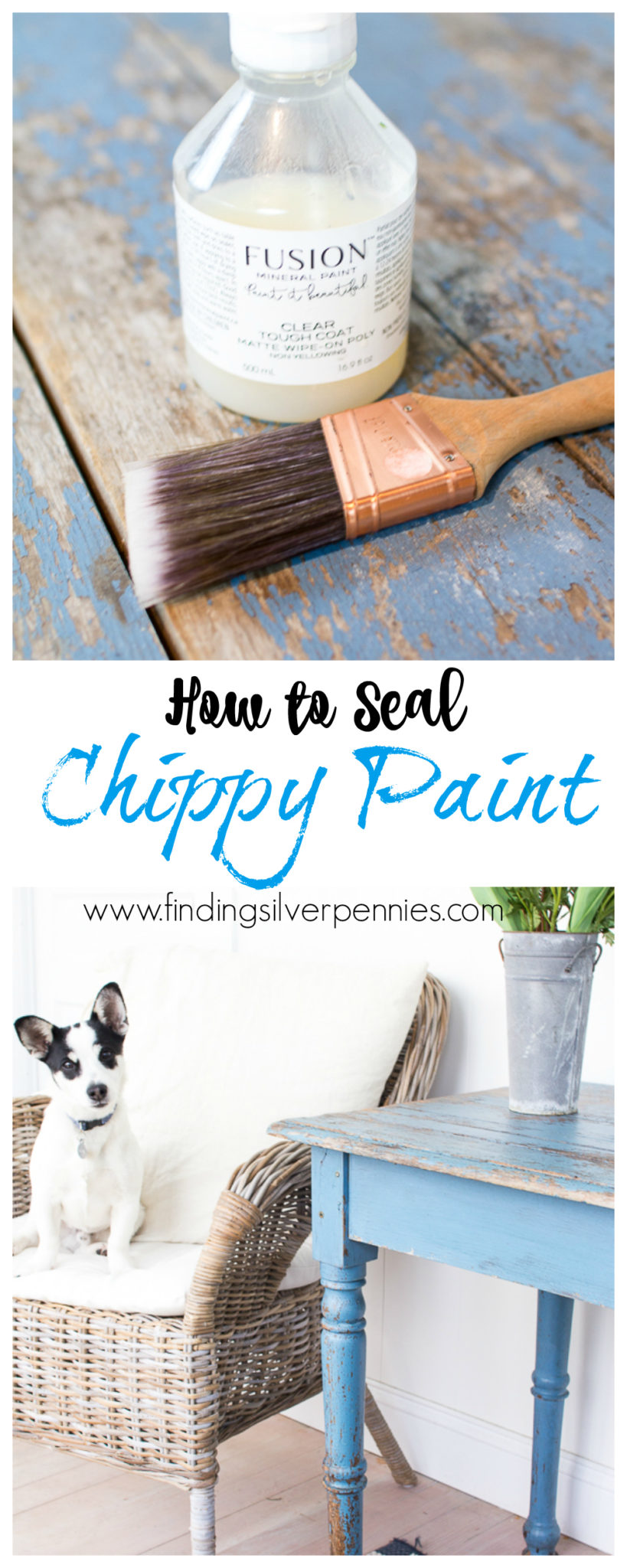 How to Seal Chippy Paint - Top Posts 2017 I Finding Silver Pennies