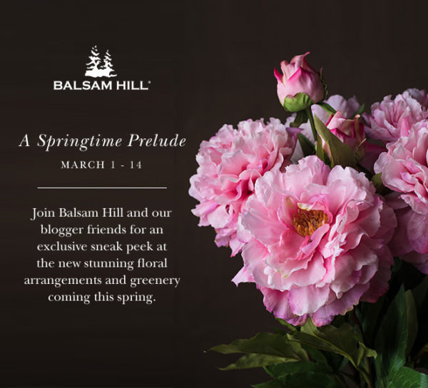 Balsam Hill Spring Prelude Tour