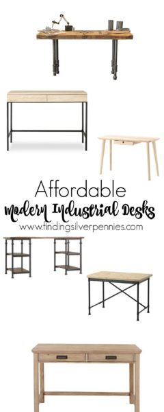 6 Affordable Modern Industrial Desks