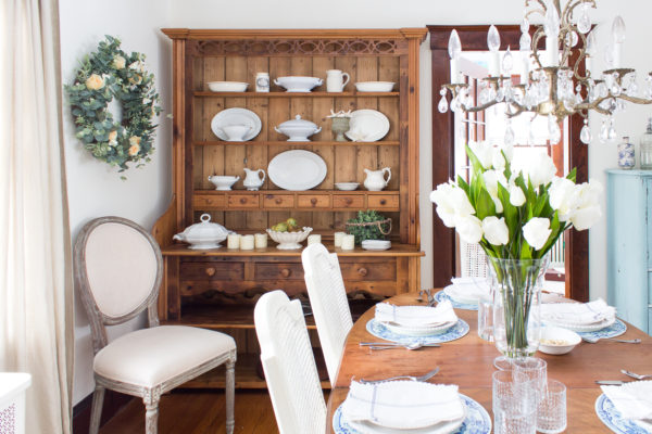 Spring Dining Room I Finding Silver Pennies