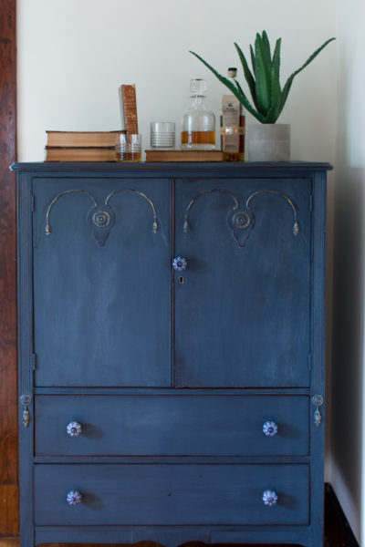 Before & After I The Hayden Cabinet Dresser I Finding Silver Pennies
