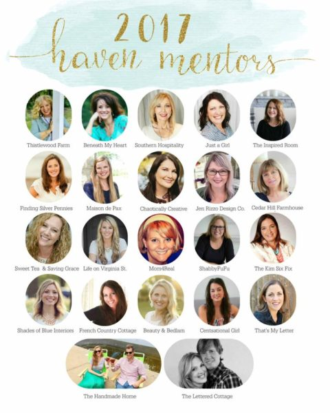 Haven Mentor Blog Hop I Finding Silver Pennies
