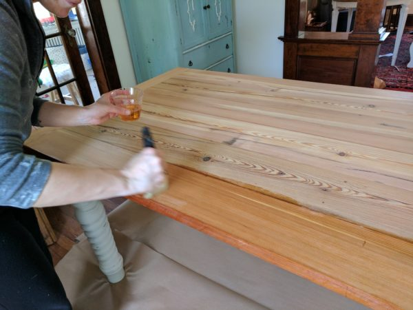 How To Seal Reclaimed Wood I Finding Silver Pennies