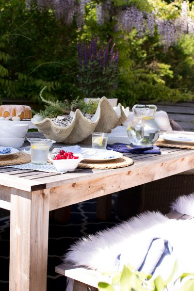 7 Easy Ideas for Outdoor Entertaining I Finding Silver Pennies
