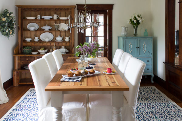 English Coastal Dining Room Reveal I Finding Silver Pennies