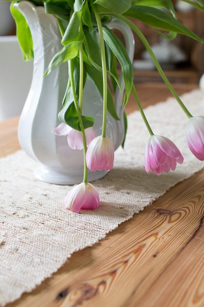 Decorating with Pink Flowers I Finding Silver Pennies