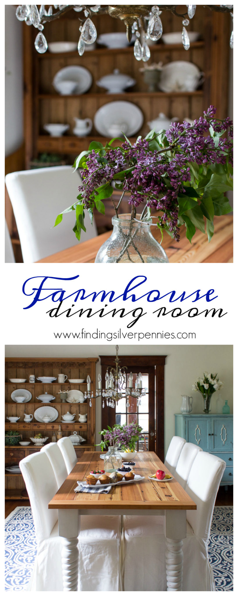 Farmhouse Dining Room Reveal I Finding Silver Pennies
