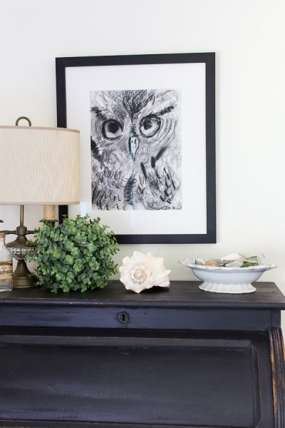 Why You Should Frame Your Kids' Artwork I Finding Silver Pennies