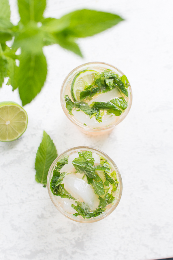 Rhubarb Mojito and Other Cocktails - Finding Silver Pennies