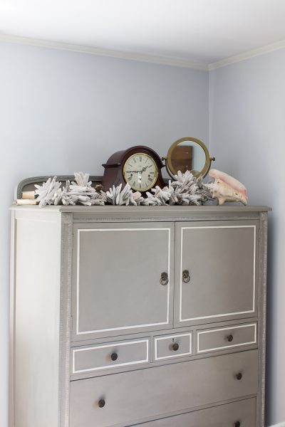 Coastal Inspired Bedroom I Finding Silver Pennies
