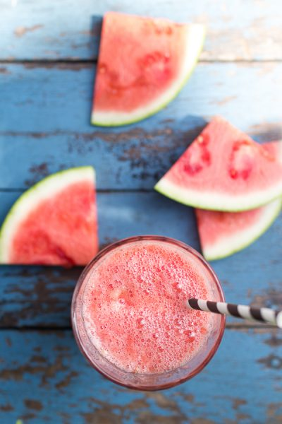 Healthy Watermelon Slushies I Finding Silver Pennies