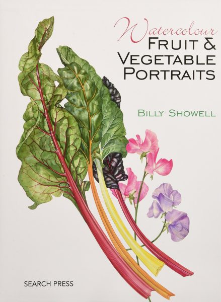 Watercolor Fruit & Vegetable Portraits by Billy Showell